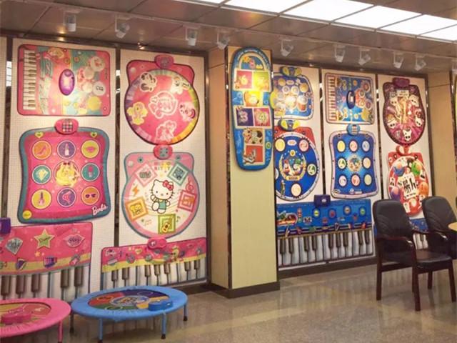 showroom of Sunlin playmats