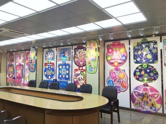 showroom of Sunlin playmat