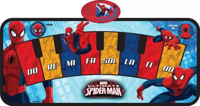 Spider-Man Combines with Sunlin's Piano Mat