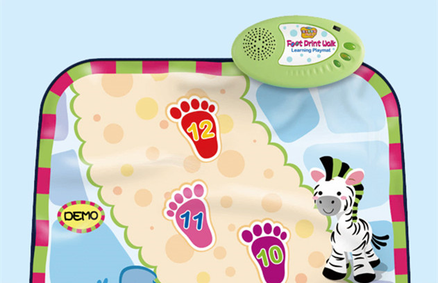 Foot Print Music Mat
