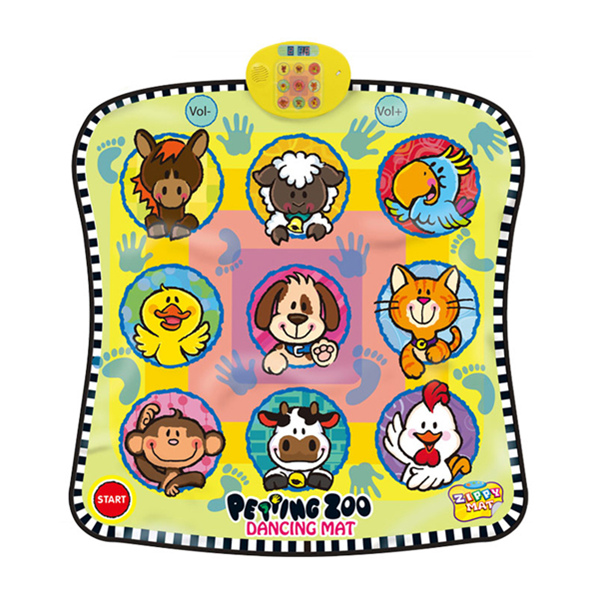 Animals Dancing Challenge Playmat