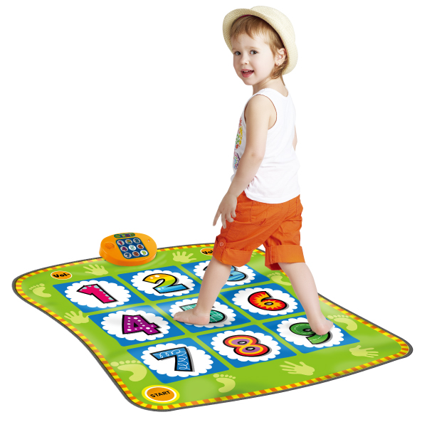 Dancing Challenge Playmat with 9 Blinking Lights, 3 Background Music