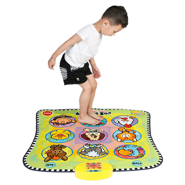 Electronic Animal Play Mat, Musical Playmat