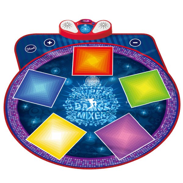 Super Star Dance Mixer Playmat, 4 Background Music, Light up Keys