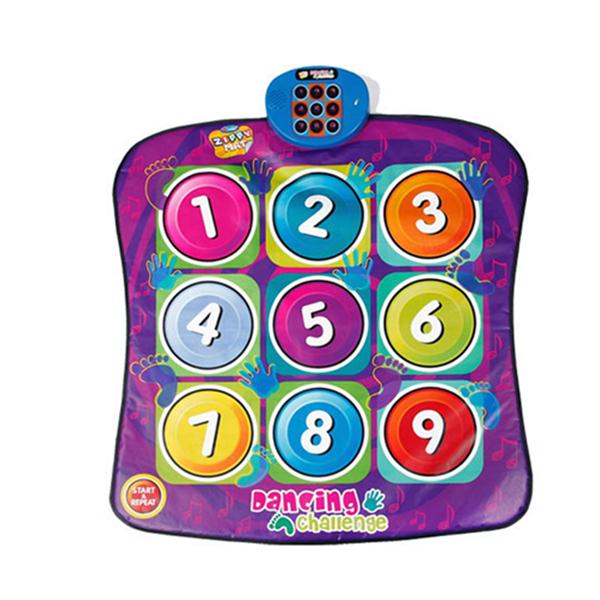 Zippy Mat Dancing Challenge Playmat, Musical Play Mat