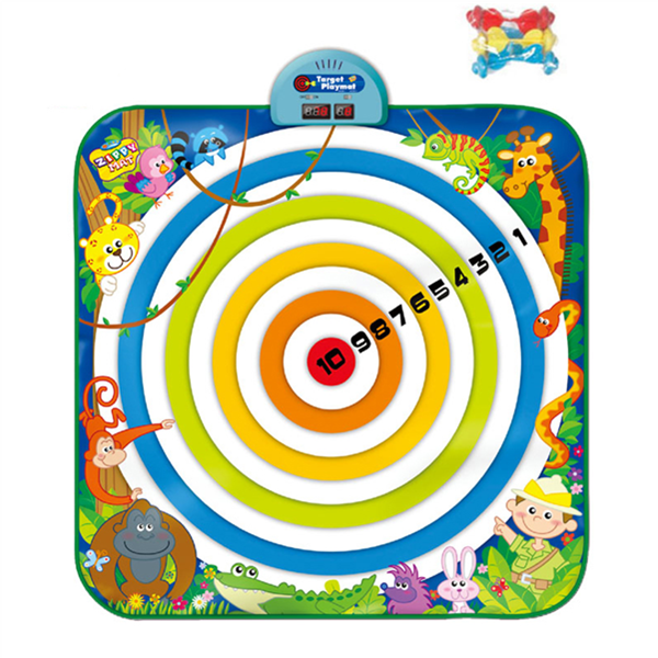Dart Board Playmat, Kids Target Playmat
