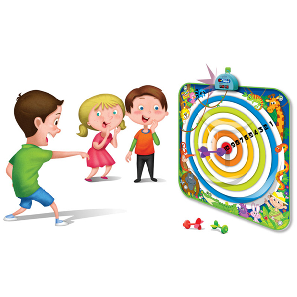 Dart Board Playmat, Kids Target Playmat