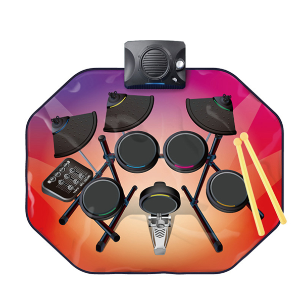 Glowing Drum Kit Mat