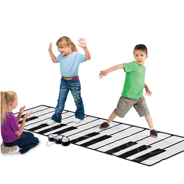 Giant Floor Keyboard Playmats