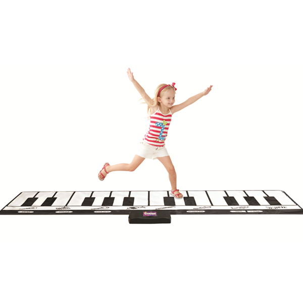 Gigantic Piano Mat, SLW968, Black & White