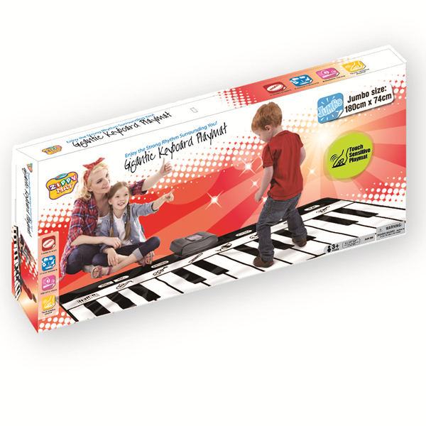 Gigantic Piano Playmat, Electronic Floor Keyboard Mat