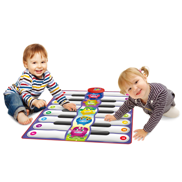 Keyboard Playmat for 2 Players, 5 Modes, 8 Instruments, Built-in Demo