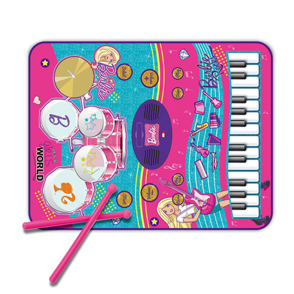 2 in 1 Music Jam Playmat Barbie Musical Playmat