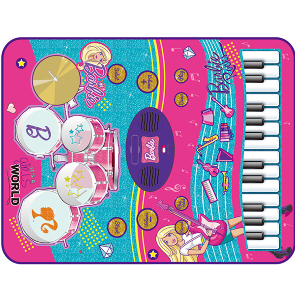 Barbie 2 in 1 Music Jam Mat - SUNLIN