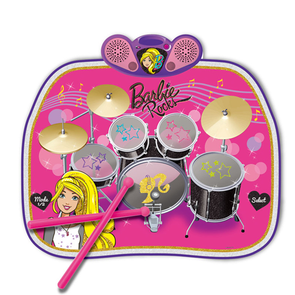 Barbie Drum Kit Mat