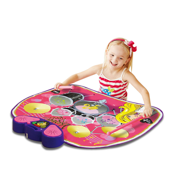 Barbie Electronic Drum Kit Playmat