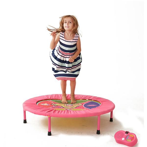 Dancing Trampoline Barbie Trampoline