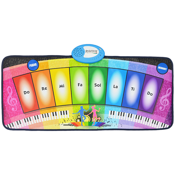 Electronic Piano Keyboard Playmat