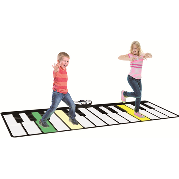 Giant Aurora Keyboard Mat, 5 Modes Selection, Light up Keys