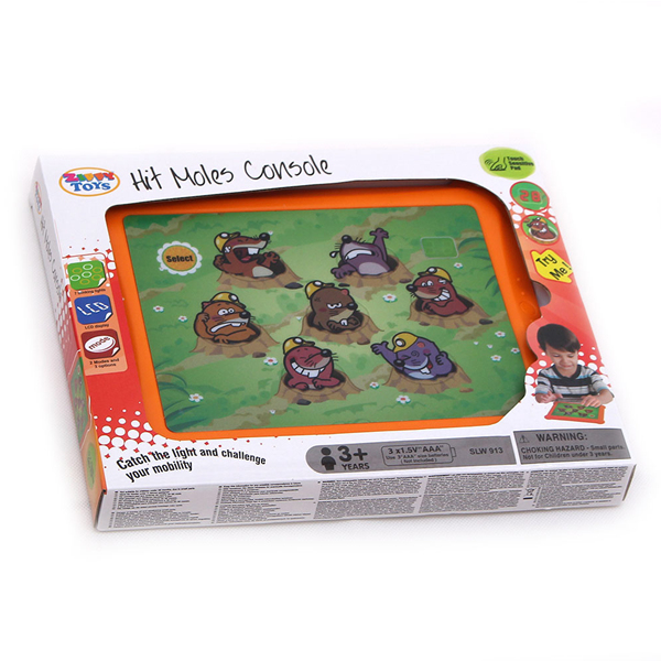 Kid Whack A Moley Pad for 3 Year Old, Light Up Game