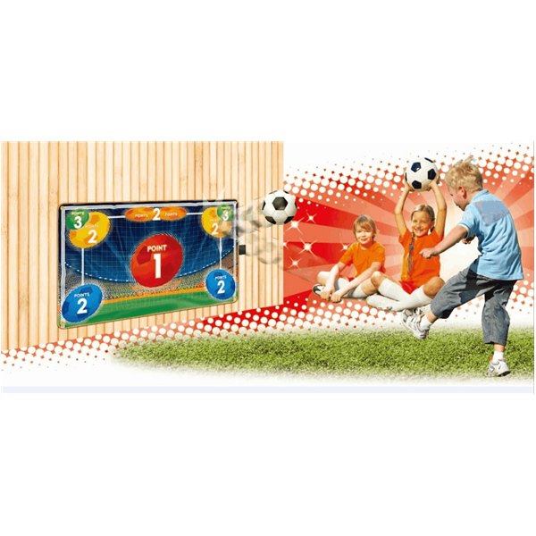 Electronic Soccer Goal Set Playmat