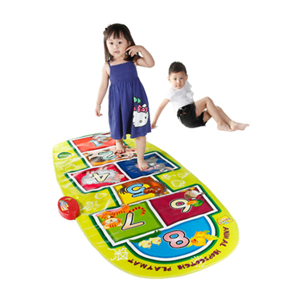 Animal Hopscotch Mat
