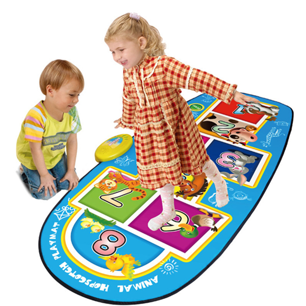 Animal Hopscotch Play Mat