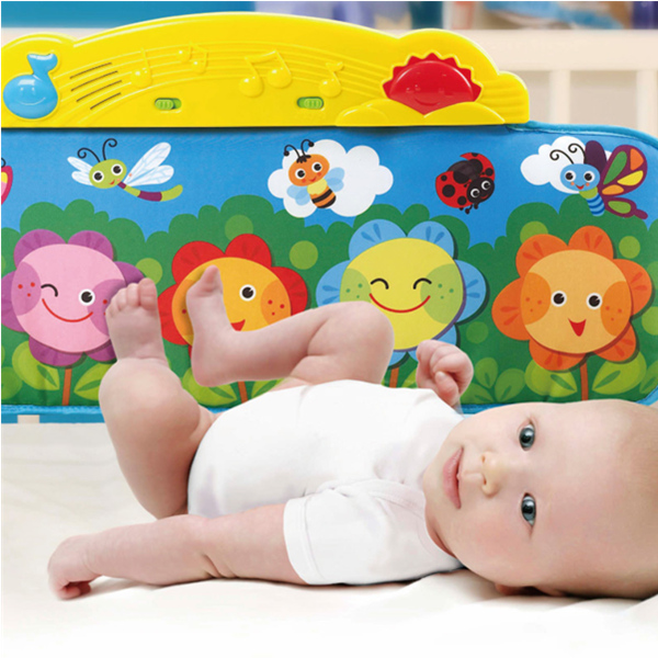 Kick and Play Crib Piano Mat
