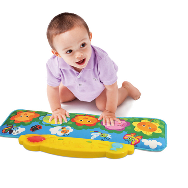 Kick and Play Piano Music Mat