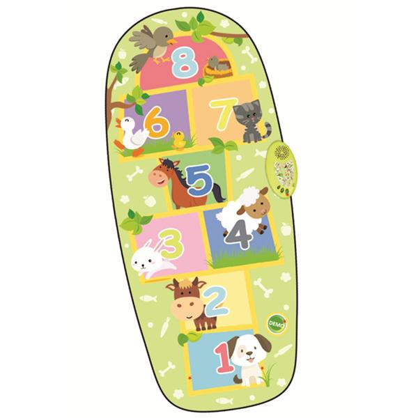 Zippy Mat Animal Hopscotch Electronic Playmat