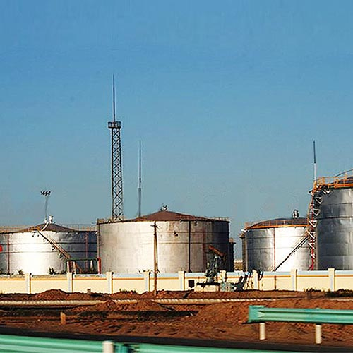Cone Roof Storage Tank, Water, Welded, A36, API 650, 260000 Gal