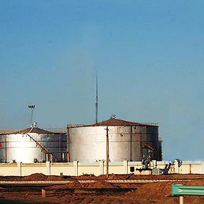 Field Erected Bulk Water Storage Tank, A36, API 650, 390000 Gal