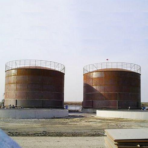 Fire Water Tank, Alloy Steel Q235B, API 650, 100000 Gal