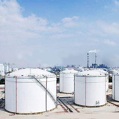 Fixed Roof Storage Tank, Welded, API 650, 400m3, 4℃ - 80℃