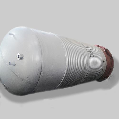 Yeast Tank, Stainless Steel, GB150, 9642 Gallon, 0.3 MPa, 12.2 Ton