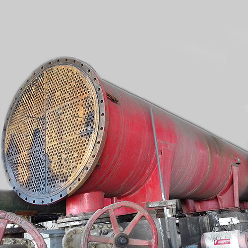 Carbon Steel Heat Exchanger for Oil, ASME, 2.4 X 11.5 Meter