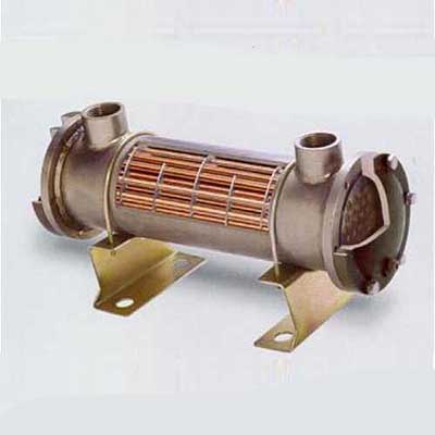 Fin and Tube Heat Exchanger, Shell and Tube, Water-cooled, 1.0MPa