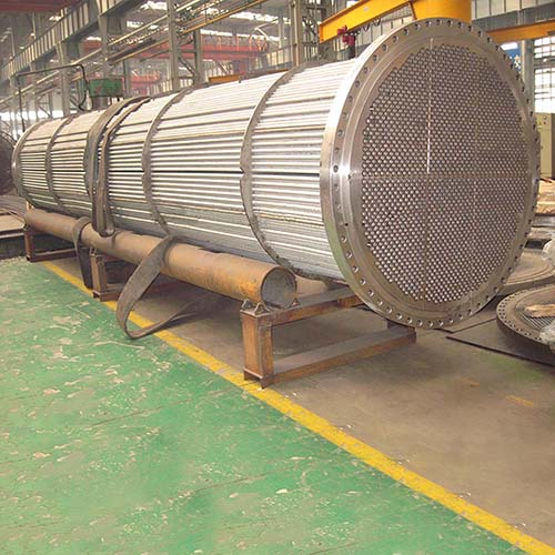 SS304 Tube Bundle Heat Exchanger, ASME, 20000mm, 100Mpa