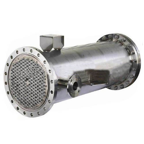 Stainless Steel Shell and Tube Heat Exchanger, ASME, 600mm, 4000mm