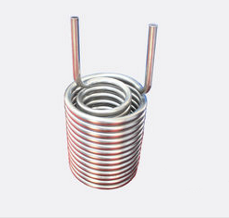 Titanium Helical Coiled Heat Exchanger, 4.0 Mpa