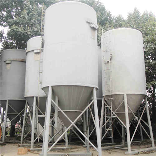 Industrial Bulk Cement Storage Silo, Q235B, 25m3, 2500 X 4200mm