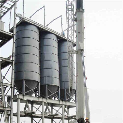 Industrial Bulk Cement Storage Silo, Q235B, 25m3, 2500 X 4200mm