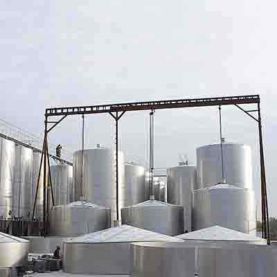 316L Liquid Storage Tank, ID 2600 mm, 50 m3