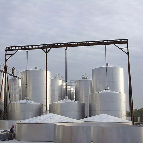 Liquid Storage Tank, Stainless Steel 316L, GB150, 10000 Gal