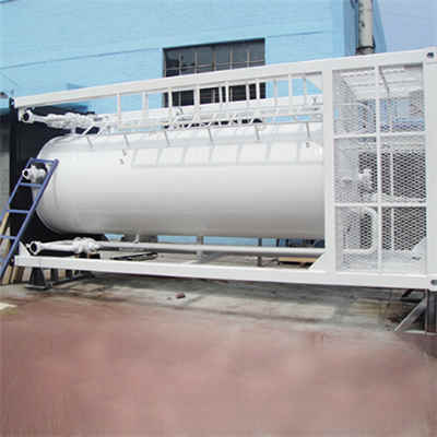 Horizontal Water Buffer Storage Tank, ASME Sec VIII, 50 Barrels