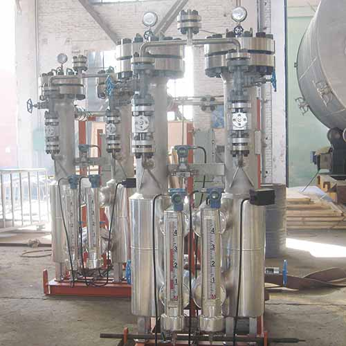 Filter Separator Vessel, Skid Mounted, SS304, GB150, 8.6 Inch