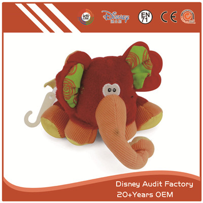 Custom Baby Plush Toys Custom Color Elephant