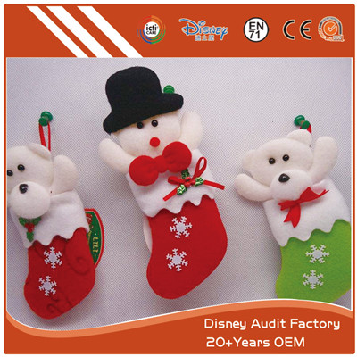 Christmas Stockings Color Custom Snowman