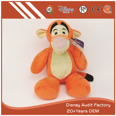 Disney Tigger Plush Toys Embroidery Pattern 100% PP Cotton