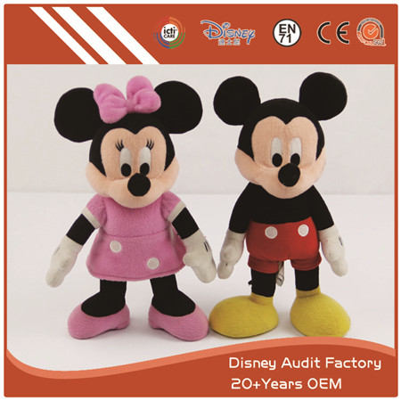 Mickey and Minnie Plush Dolls